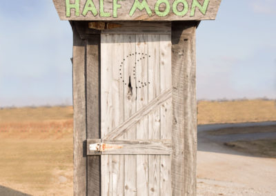 Half Moon Outhouse